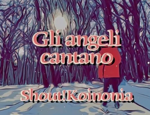 "Nuovo Lyric Video del canto ""Gli angeli cantano"""